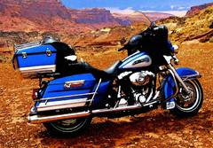 nevada harley davidson electra glide classic blue