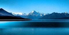 lake pukaki mount cook new zealand