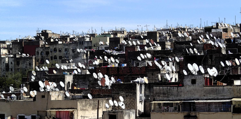 satellite dish, photo
