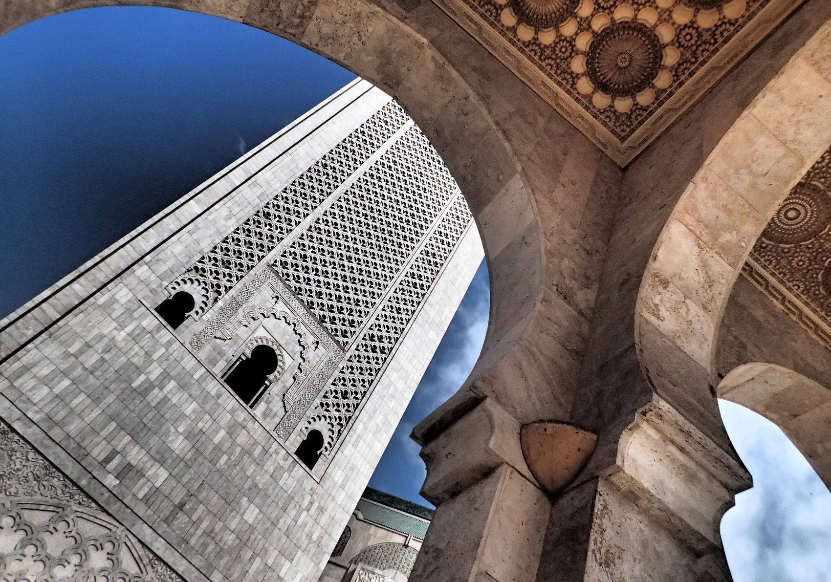 mosque casablanca, photo