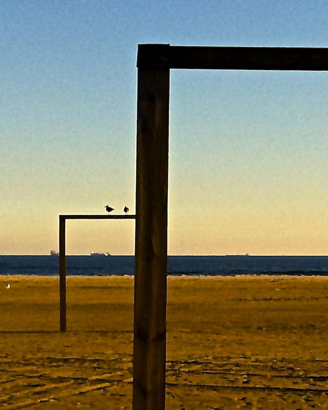beach galveston, photo